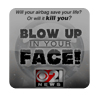 Blow Up In Your Face Print AD