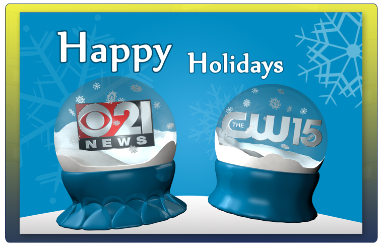 CBS21 & CW15's Happy Holiday Card