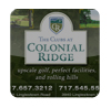 The Clubs at Colonial Ridge Web Graphics
