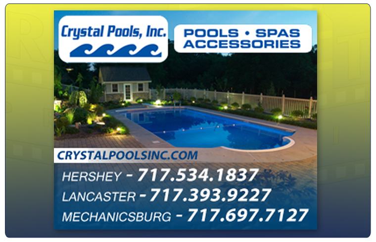 Crystal Pool's Web Graphic