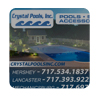 Crystal Pools Web Graphic