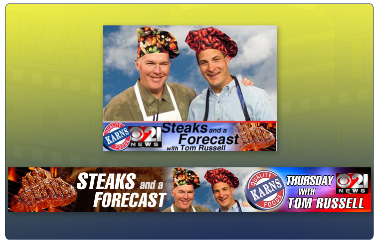 Steaks and a Forecast's Web Graphics